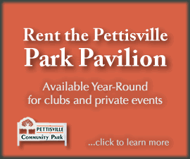 Rent the Pettisville Park Pavilion
