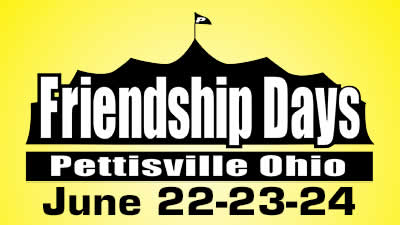 Pettisville Friendship Days June 22-23-24, 2018