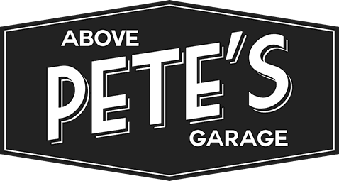 Above Pete's Garage