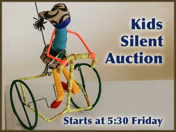 Kids Silent Auction 2016