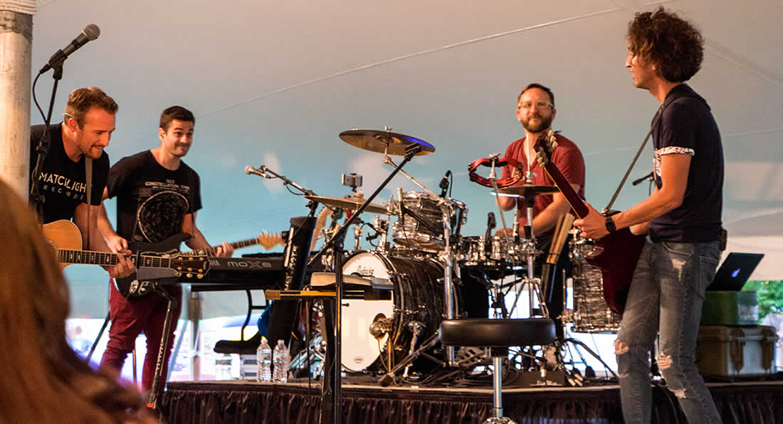 Sanctus Real in Concert Pettisville Friendship Days