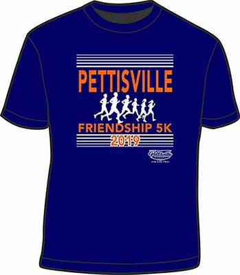 Friendship Days 5k t-shirt